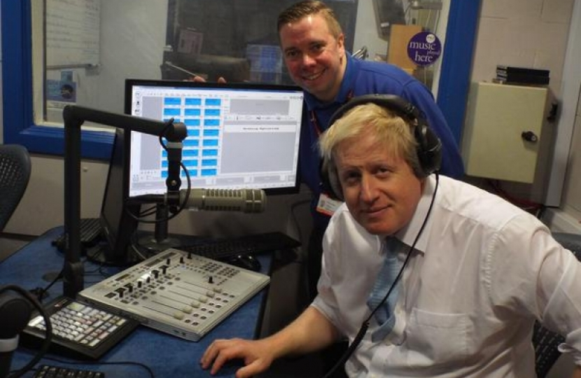 Boris Hillingdon Hospital Radio